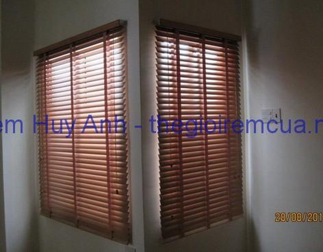 Rèm gỗ cửa sổ phòng ngủ 008MS