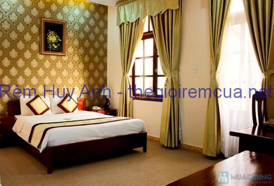 Rèm vải phòng ngủ đơn màu MK0