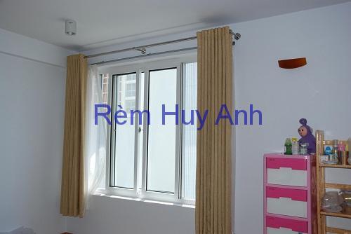 Rèm cửa sổ, Rèm vải gấm lông xù TM20-25