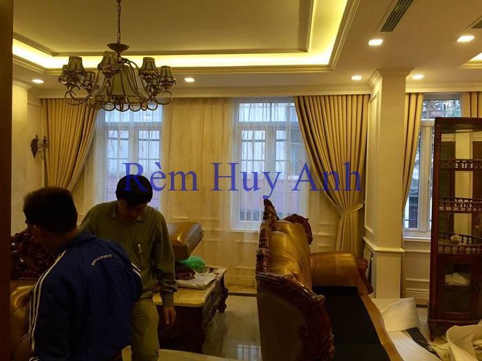 Công Trình Rèm Cửa Biệt Thự A6 Nguyễn Lương Bằng, TP.Sơn La