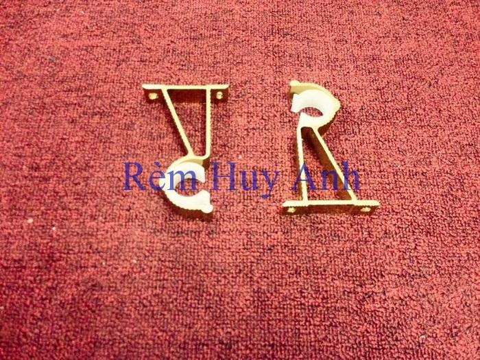 Trụ Đỡ Rèm Vải Bằng nhôm TR1