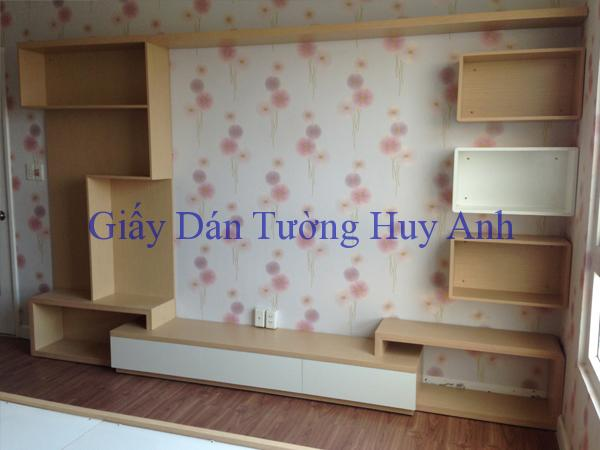 Cung cấp giấy dán tường và Rèm cửa cho 308B Quang trung – Hà Đông