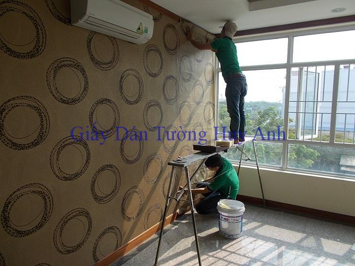 Công trình dán giấy dán tường lohmann ở 214B Thái thịnh – Đống Đa