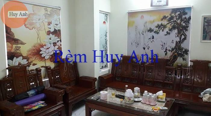 rem cuon in tranh phong canh