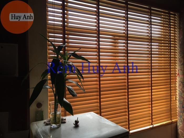 Rèm gỗ tự nhiên Basic 50mm cao cấp