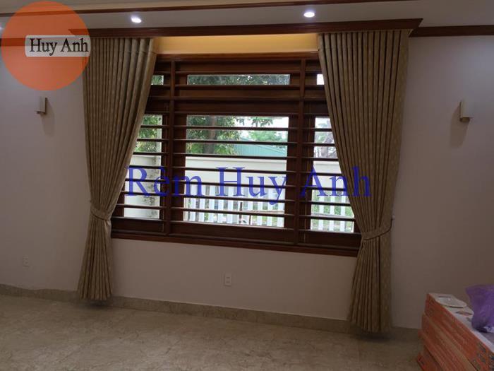 Rèm vải gấm 1 lớp cao cấp – HT6021-3