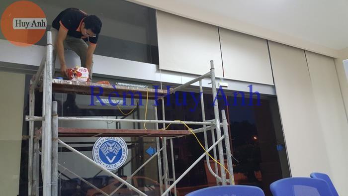 Rèm cuốn văn phòng – Rèm cầu vồng Hàn quốc Lắp tại 200 Nguyễn sơn – H.Gia lâm